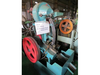 An Zhi M5x50 Used Headless Thread Rolling Machine