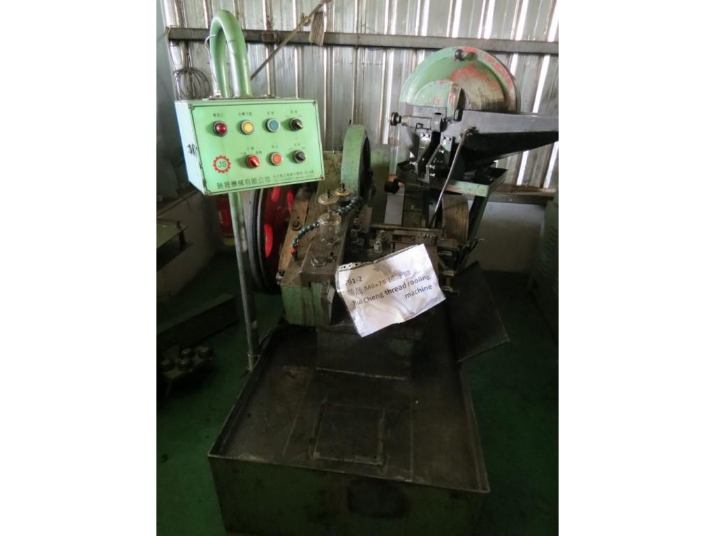 Ruei Cheng M6x75 Used Thread Rolling Machine