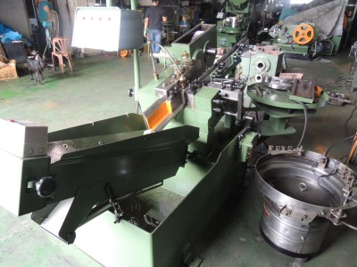 Chou Cheng 6Rx75 used thread rolling machine